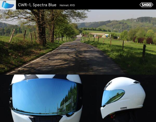 CWR-1 spectra blue