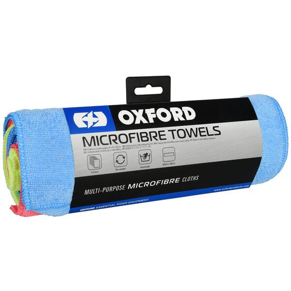 Oxford Microfiber klude 6-Pack